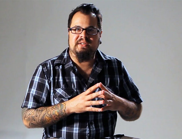 James Vaughn de la temporada 7 de Ink Master y Finalist en la primera temporada.