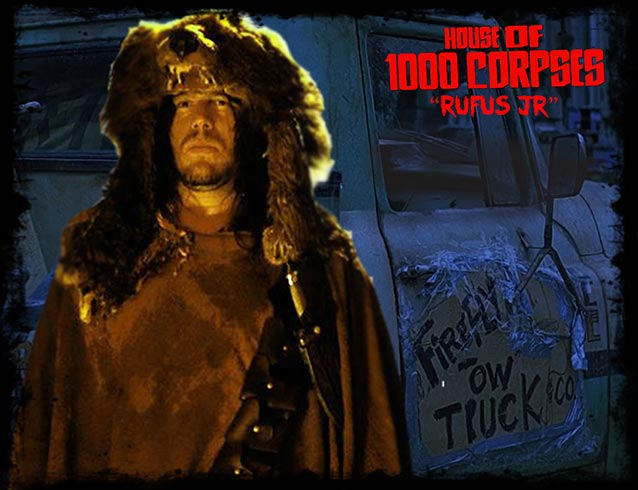 Robert Mukes from House of 1000 Corpses & Westworld