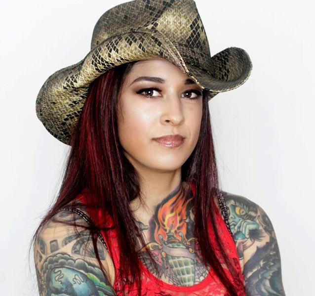 Lydia Bruno from Ink Master Season 4