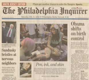 Philadelphia 2012 by the Philadelphia Inquirer Newspaper