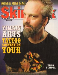 Villain Arts Tattoo Convention Tour by Skin & Ink Magazine